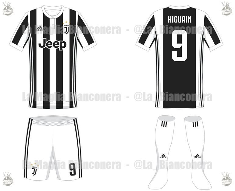 maglia juventus home 2017-2018 new