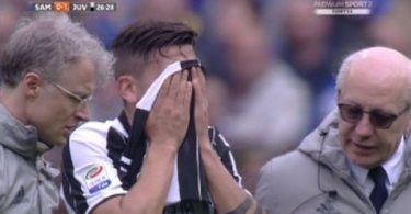 dybala infortunato