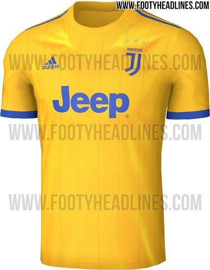 maglia juventus away 2017-2018 fronte