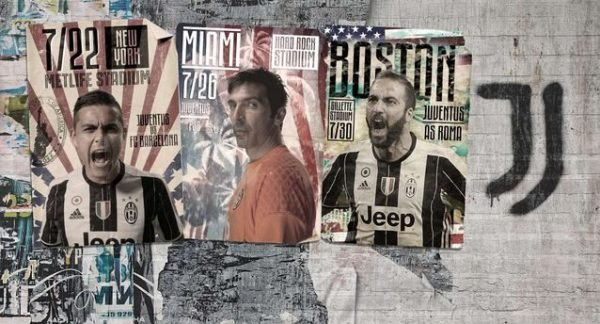 Juventus summer tour 2017