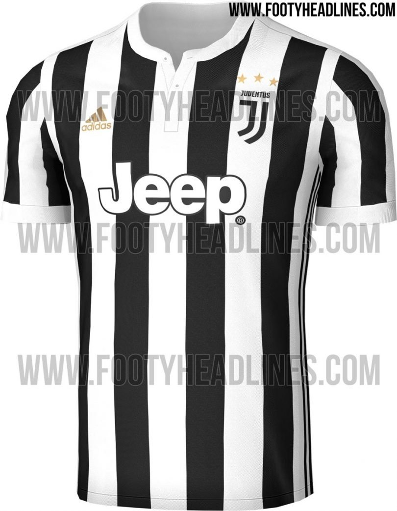 maglia juventus home 2017-2018 footy