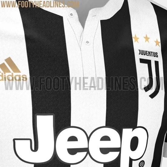 maglia juventus home 2017-2018 footy fronte