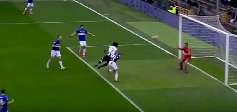 sampdoria-juventus 0-1 video highlights