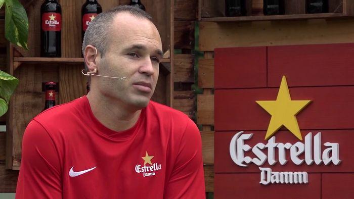 Iniesta apre: