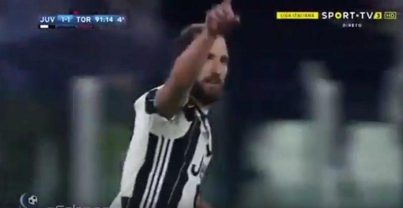 juventus-torino higuain gol