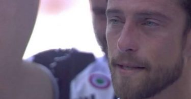 marchisio piange video