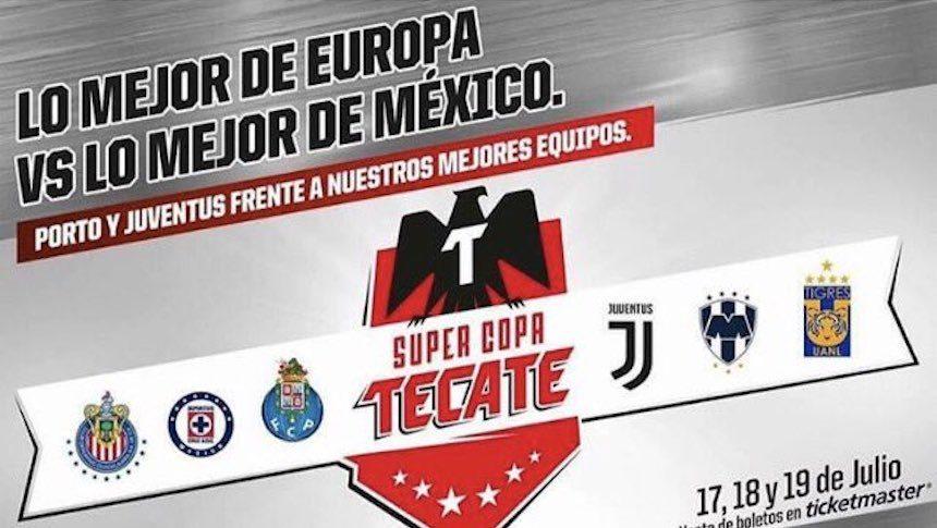 Juventus super copa Tecate