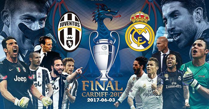 juventus-real madrid finale champions 2017