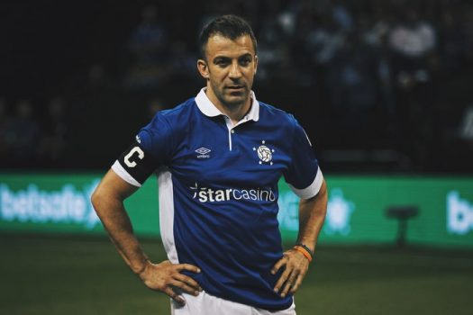 Star Sixes Del Piero