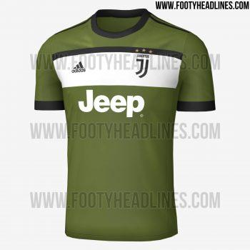 terza maglia juventus 2017-2018 front