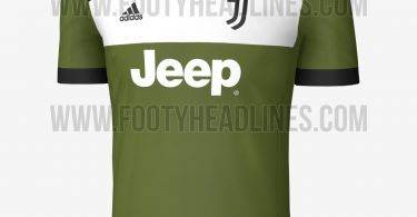 terza maglia juventus 2017-2018 front