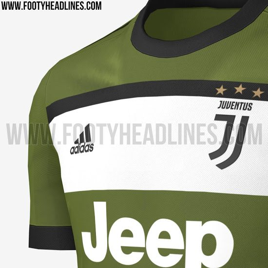terza maglia juventus 2017-2018 sponsor