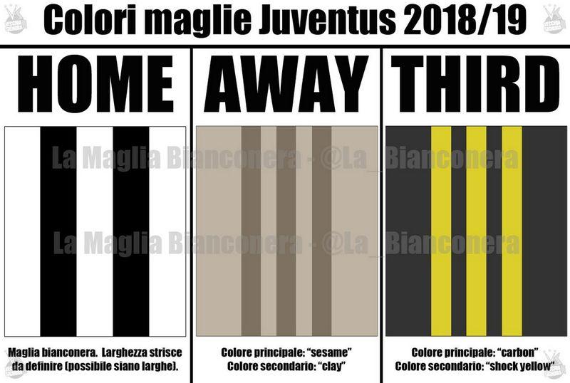 maglie juventus 2018-2019 colori
