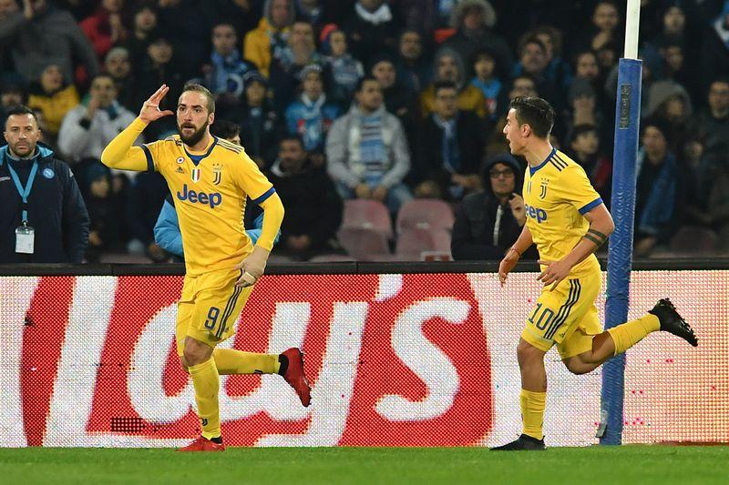 Napoli-Juventus 0-1 higuain video