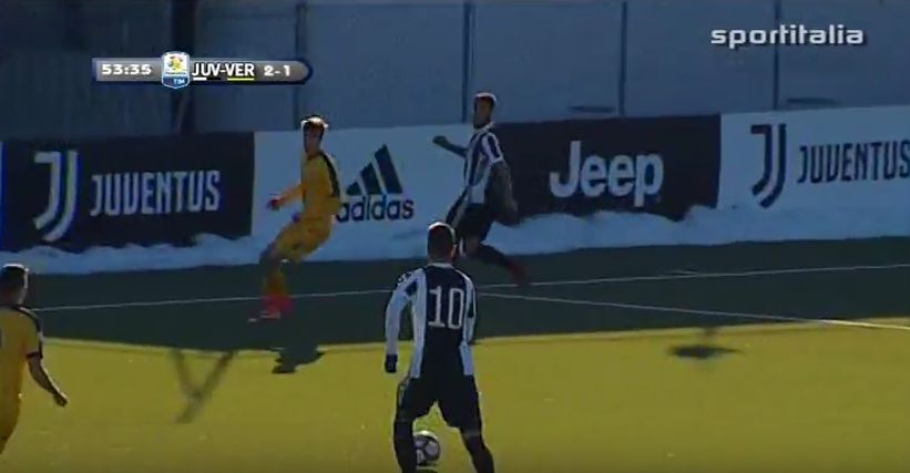 Pjaca Juventus Verona primavera