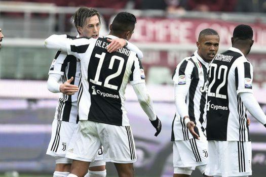 Torino-Juventus 0-1 video gol