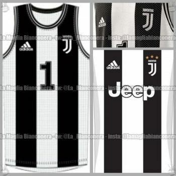 adidas divisa basket maglia juventus 2018-2019