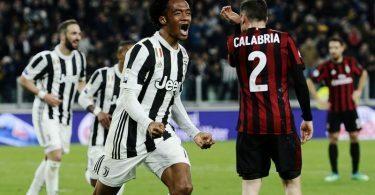 Juventus-Milan 3-1 Cuadrado