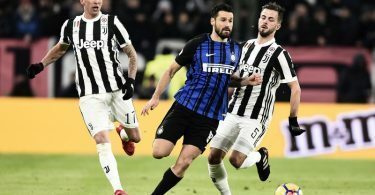 Inter-Juventus formazioni