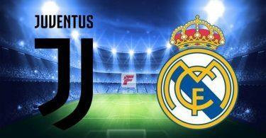 Juventus-Real madrid formazioni