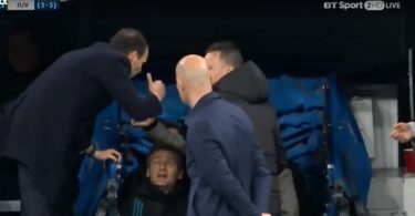 Sergio Ramos Allegri Real Madrid-Juventus