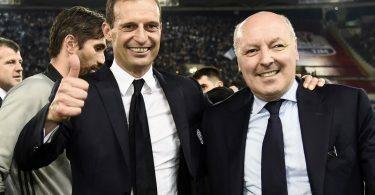 Juventus news Allegri Marotta