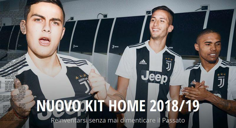 Maglia Juventus prima