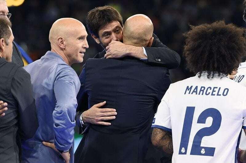 Zidane Juventus 2019