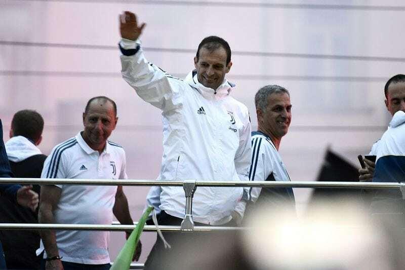 Allegri Real Madrid