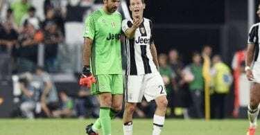 Juventus Buffon Lichtsteiner