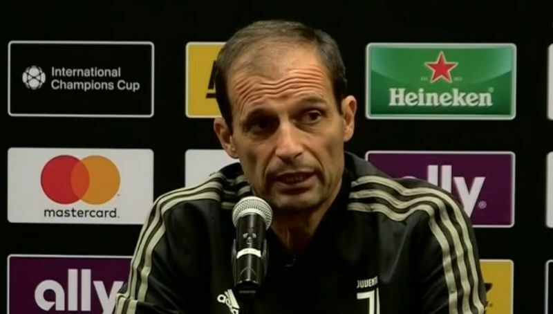allegri conferenza stampa usa