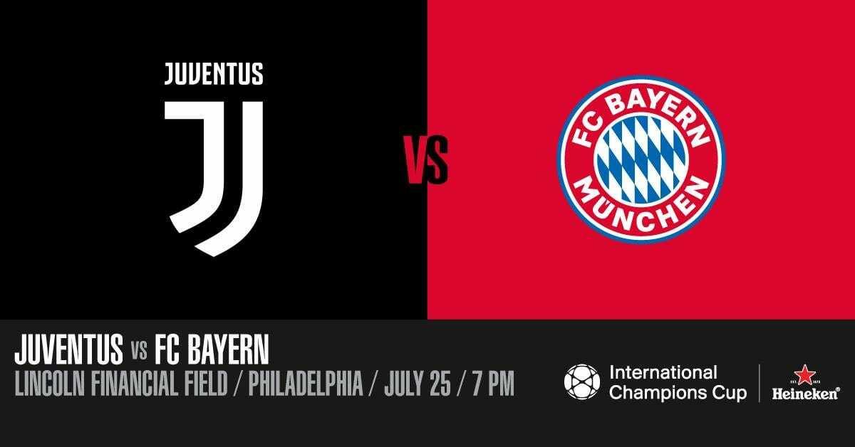 Juventus-Bayern Monaco ICC 2018 diretta streaming