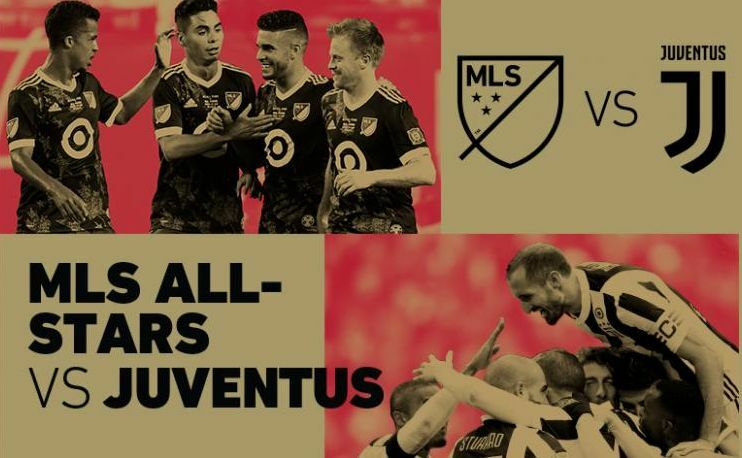 mls all stars-juventus diretta streaming