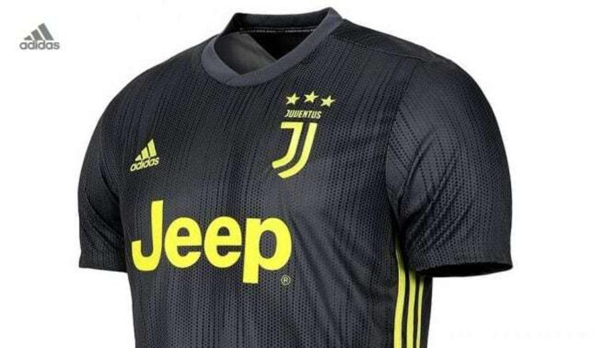 Terza maglia Juventus 2018-2019 | Adidas | Ecologica | Foto