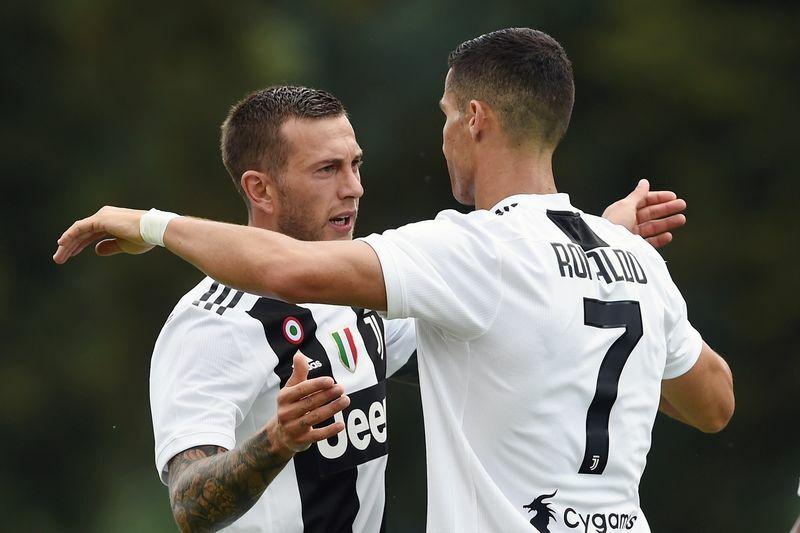 Chievo-Juventus bernardeschi ronaldo