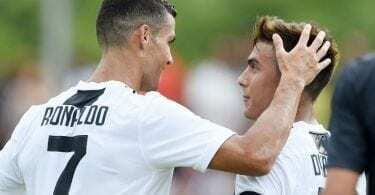 Juventus social ronaldo