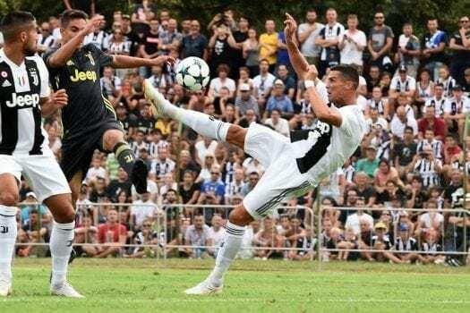 Juventus A-Juventus B Villar Perosa Ronaldo