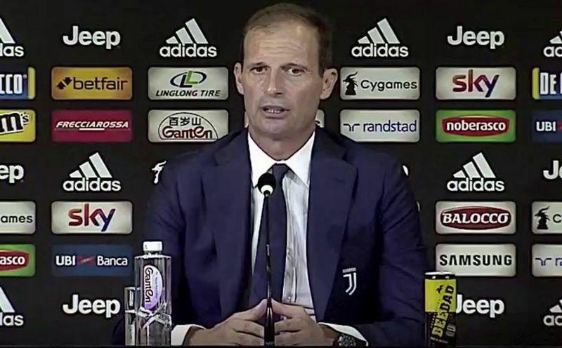 allegri conferenza stampa Juventus-lazio
