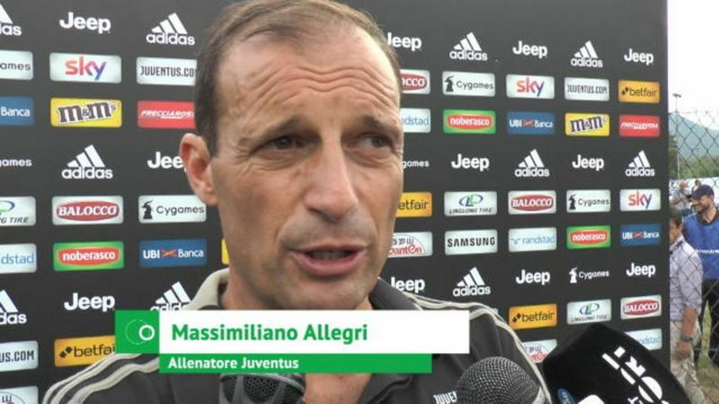 allegri conferenza stampa marchisio