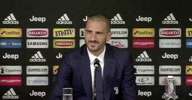 Bonucci conferenza stampa 10 agosto 2018 video