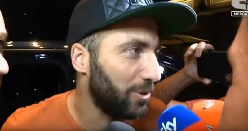 higuain intervista milan tifosi juventus