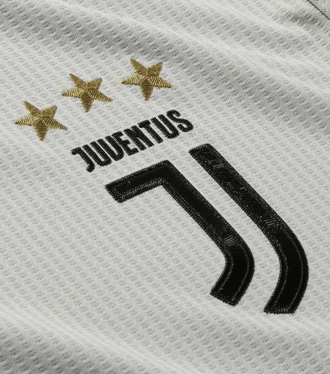 maglia juventus 2018-2019 away logo