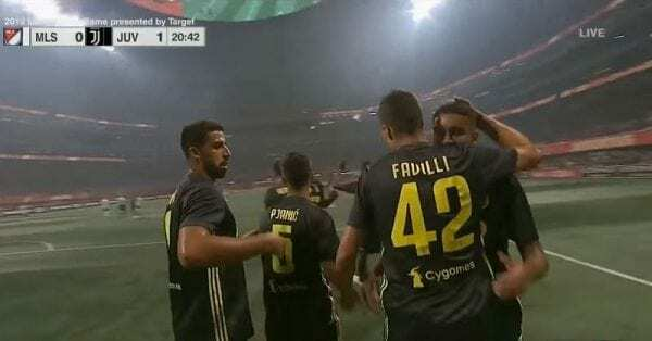 Mls All Stars-Juventus 1-1 video gol favilli