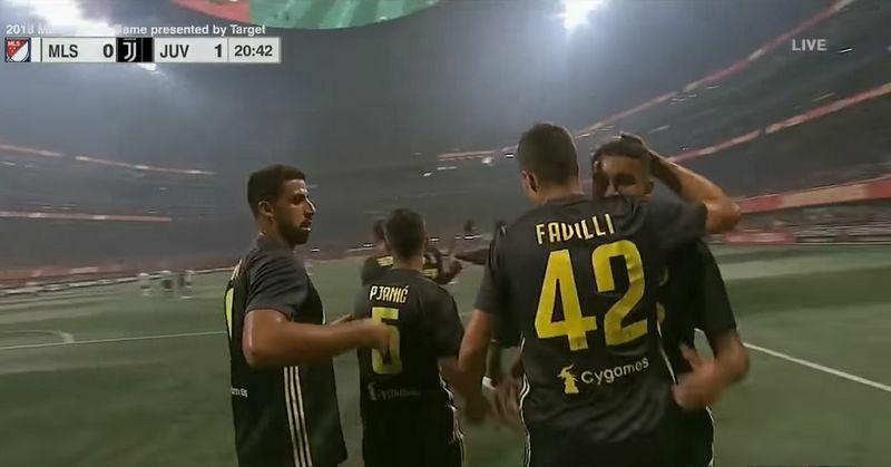 Mls All Stars-Juventus 1-1 video gol favilli