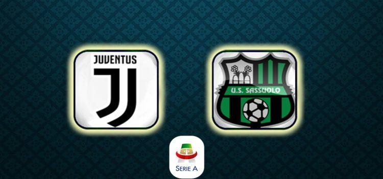 Juventus Sassuolo Diretta Streaming Formazioni Cronaca Live