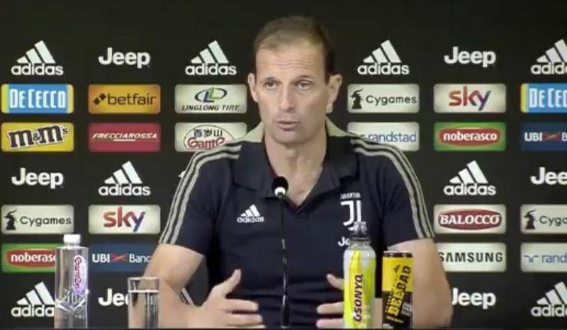 Allegri conferenza stampa frosinone Juventus