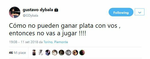 gustavo dybala argentina
