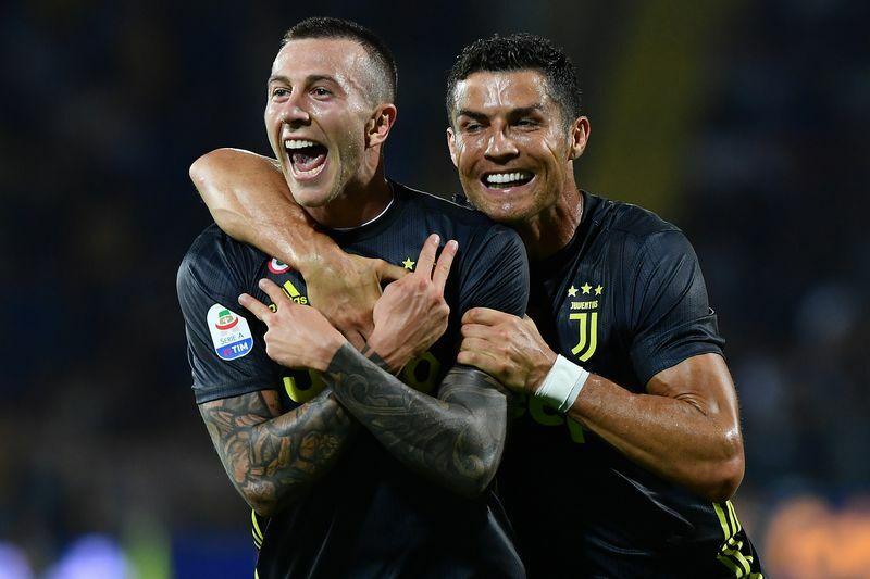 Frosinone Juventus editoriale