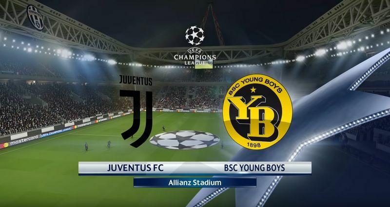 juventus-young boys formazioni champions league