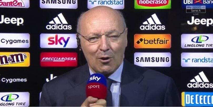 Marotta Juventus-Sassuolo 2018-2019